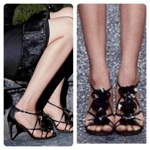 New. Tory Burch Emmanuelle Strappy Party Heels